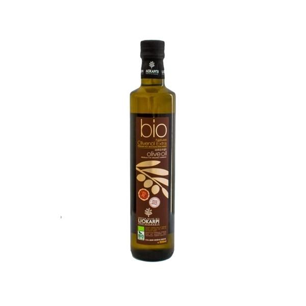 Liokarpi Extra Virgin BIO Olivenöl aus Kreta 0.5L
