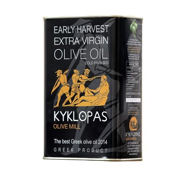 Kyklopas Extra Virgin Olivenöl Agoureleo 2.5L