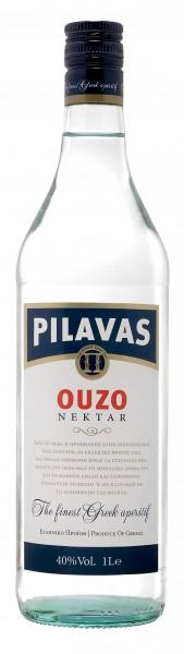Ouzo Pilavas Nektar 38% 2 Liter
