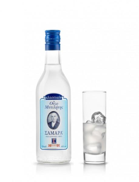 Ouzo Samara Blue Lesvos 40 % 0,2L