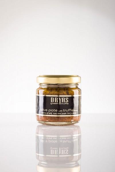 Dryas Olivenpaste mit schwarzen Trüffeln 80gr