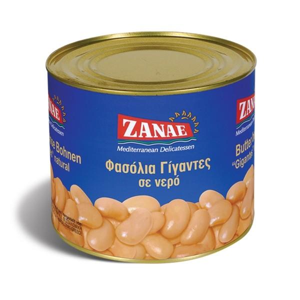 Zanae naturel Gigantes gekochte riesen Bohnen 2Kg