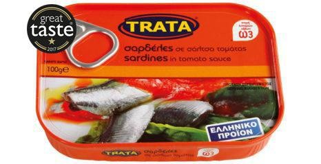 Trata Sardinen in Tomatensauce