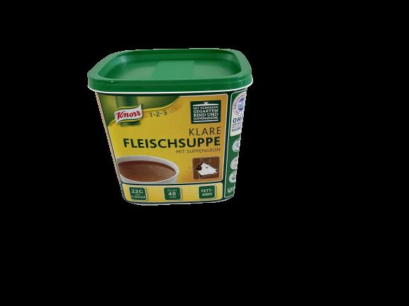 Knorr Klare Fleischsuppe 880gr