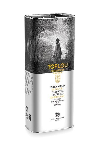 Toplou Sitia Olivenöl aus Kreta 4L Extra Virgin