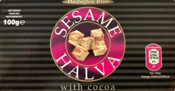Halva mit Kakao Macedonian 100gr Haitoglou