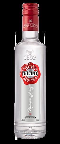 Ouzo Veto Silver 40% 0.7L