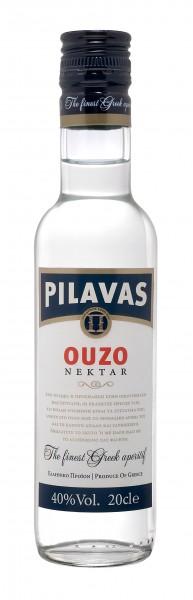 Ouzo Pilavas Nektar 40% 0.2L