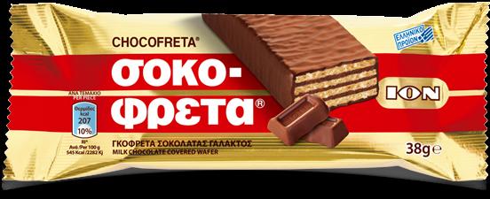 ION Sokofreta 38gr Schokoriegel aus Griechenland