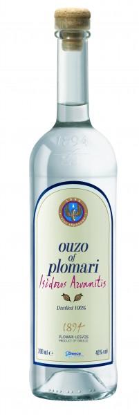 Ouzo Plomari Issidoros Arvanitis 40% 0.7L
