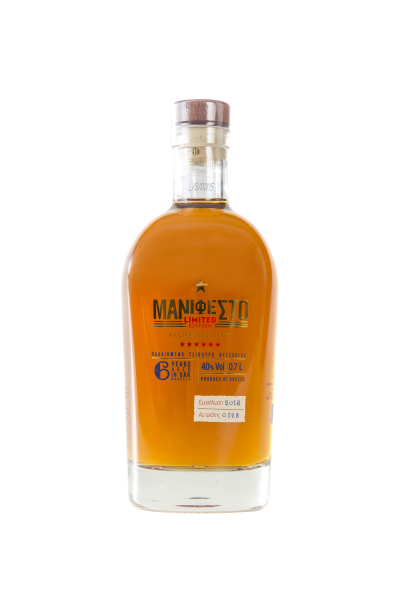 Tsipouro Manifesto 6 yrs Limited Edition Grego Aged 0,7L
