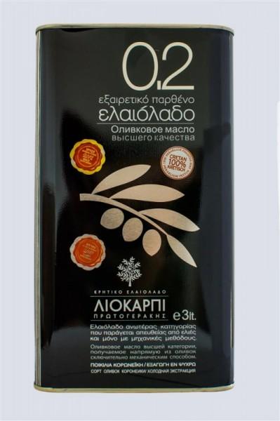 Liokarpi 0,2 Olivenöl aus Kreta 5L Extra Virgin