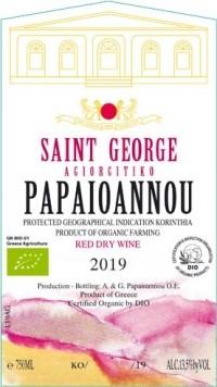 Papaioannou Saint George Agiorgitiko