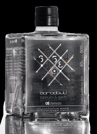 Dorodouli Alchemestes No9 - Fruity 40% 0.5L