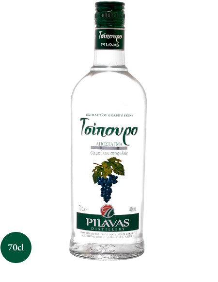 Tsipouro Pilavas 0,7L 40%