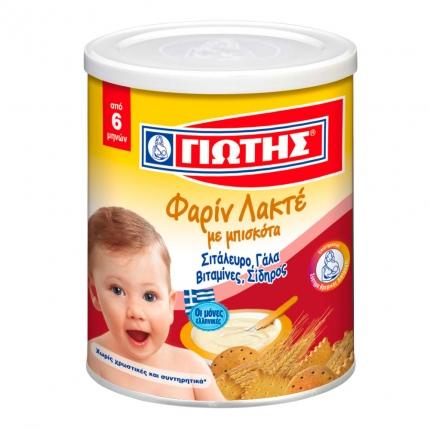 Jotis Farin Lakte Milchbrei mit Keks 300gr