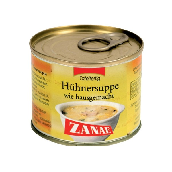 Zanae Huhnersuppe 200ml