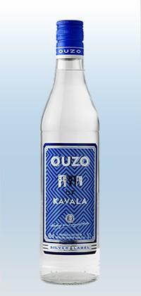 Ouzo Kavala Silver Label 40% 0,7L