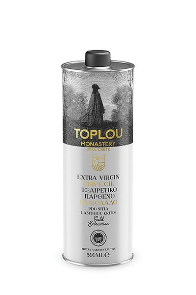 Toplou Sitia Olivenöl aus Kreta 0,5L Extra Virgin