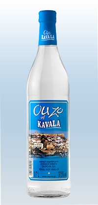 Ouzo Kavala Blue Label 37,5%