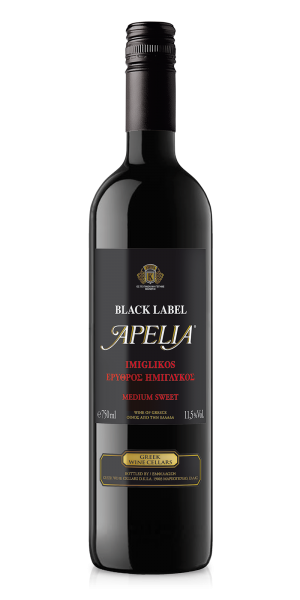 Kourtaki Apelia Black Label 0,375L