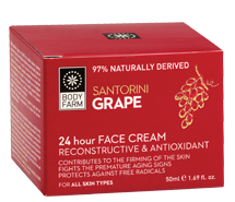 Bodyfarm Santorini Grape 24 h Face Cream 50ml