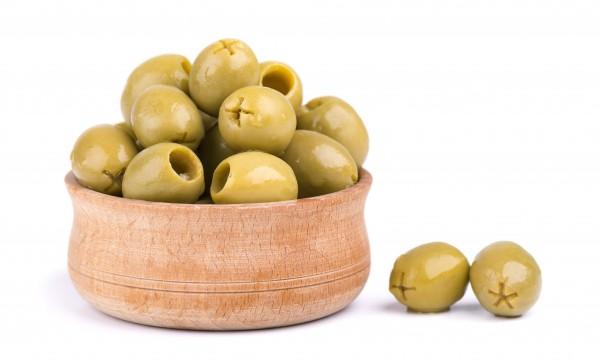 Grune Oliven ohne Kerne 500g