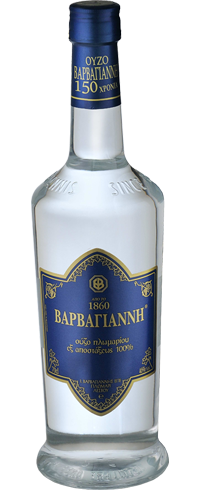 Ouzo Barbayanni Blue Label 46% 0.2L