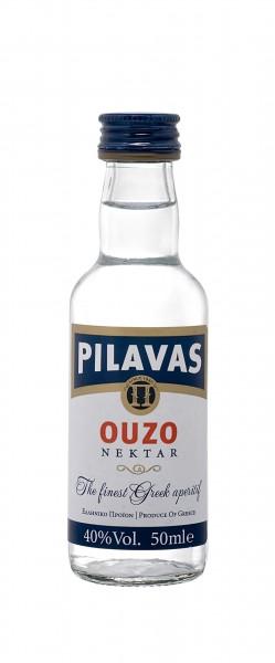 Ouzo Pilavas Nektar 40% 50ml