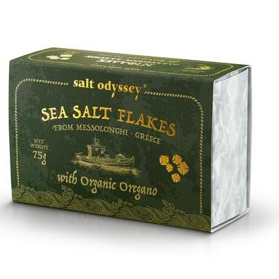 Salt Odyssey Meersalz Floken BIO Oregano 75gr