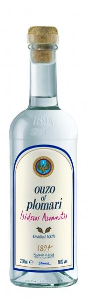Ouzo Plomari Issidoros Arvanitis 40% 0.2L