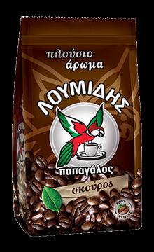 Loumidis Papagalos Dark - Dunkel Mokka Kaffee 194gr