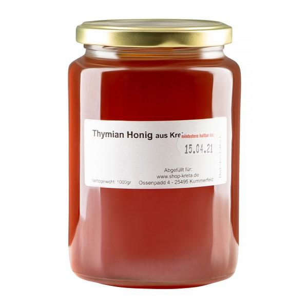 Thymian Honig 1Kg aus Kreta