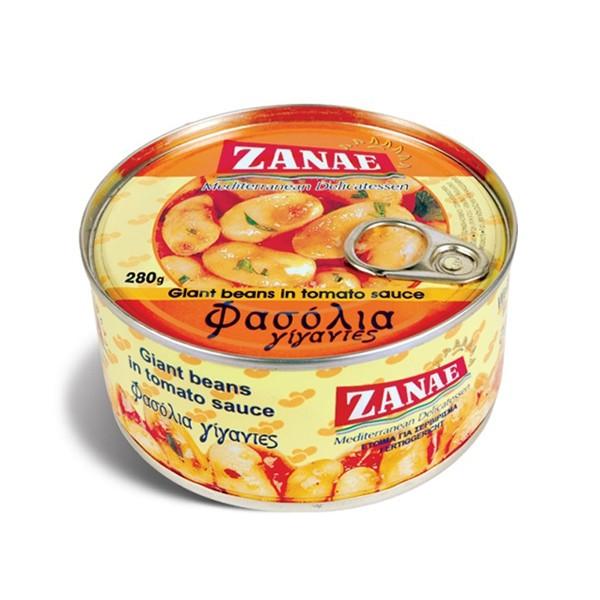 Zanae Gigantes gekochte riesen Bohnen