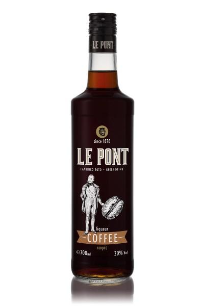 Gatsios Le Pont Coffee Likör 20% 0,7L