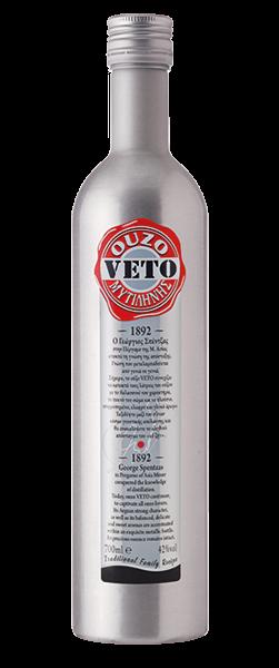 Ouzo Veto Metallic 42% 0.7L