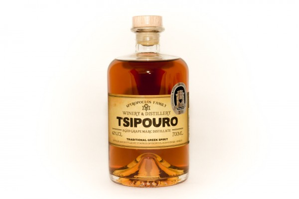 Tsipouro Aged Spyropoulos 0.2L