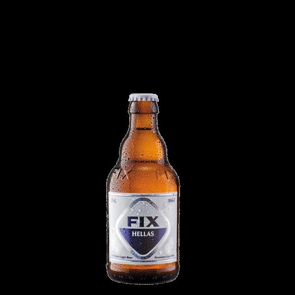 FIX Bier aus Griechenland 0.33L
