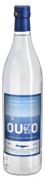 Ouzo Zoumberakis aus Kreta 0,7L