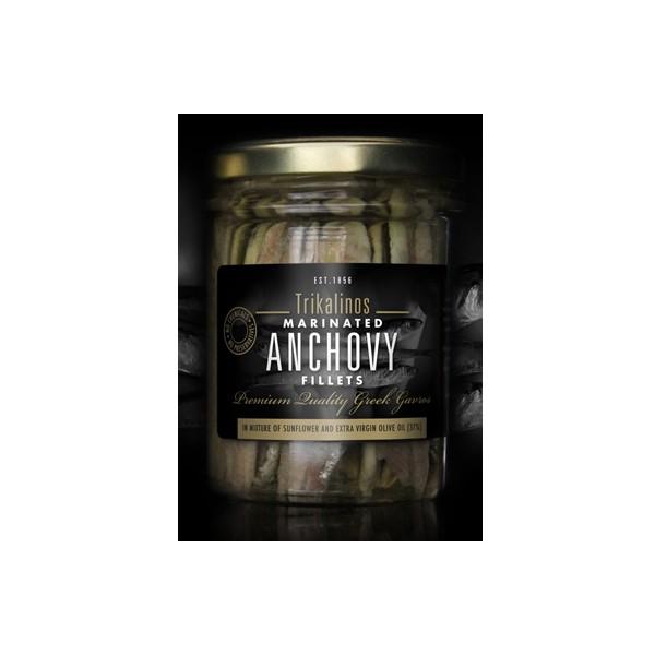 Trikalinos marinierte Anchovies-Filets