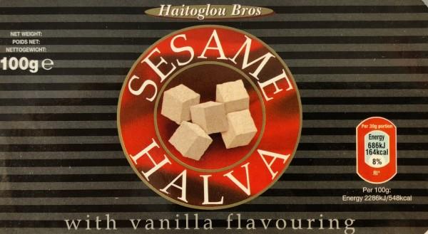 Halva mit Vanille Macedonian 100gr Haitoglou