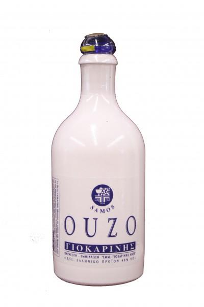 Ouzo Samos Giokarinis Ceramic 0,5L 40%