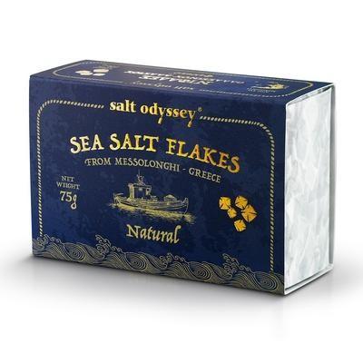 Salt Odyssey Meersalz Floken Natural 75gr