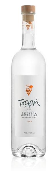 Tsipouro Tsilili ohne Anis 0,2L 40%