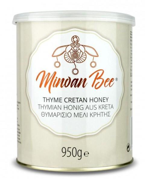 Minoan Bee Thymian Honig 950gr Metall