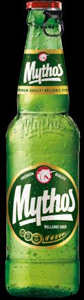 24 Flaschen Mythos Bier 0,33L aus Griechenland