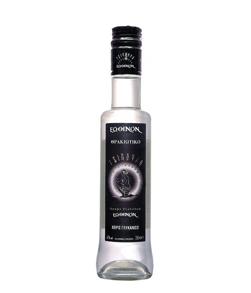 Tsipouro EOTHINON Black Label 0.5L