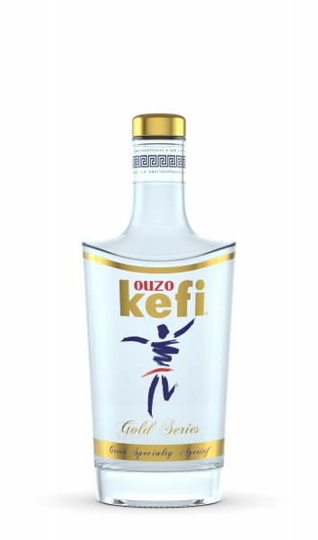 Ouzo Kefi Gold Series 42% 0,7L