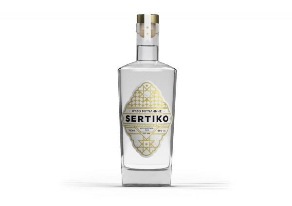 Ouzo Sertiko Mytilini 45% 0,7L