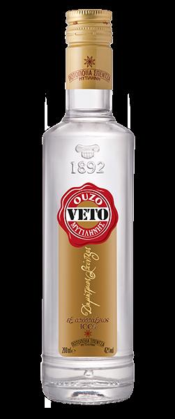 Ouzo Veto Gold 42% 0.7L